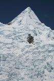 Peak Alpamayo in the Cordilleras Royalty Free Stock Photos