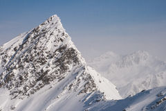 Peak in the Alps Royalty Free Stock Images