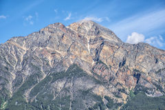Peak of Canadian Rockies Royalty Free Stock Photography