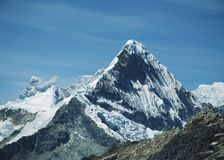 Peak Caras in Cordilleras Stock Images