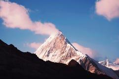 Peak Caraz in Cordilleras Stock Photography