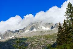 Peak of Care Alto - Adamello Trento Italy Royalty Free Stock Photos