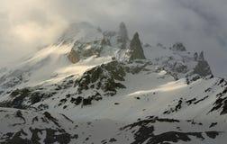 Peak Caucasus Royalty Free Stock Photos
