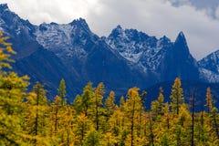 Peak Challenger. Circuit Ridge Mountains Great Anngachag Stock Images