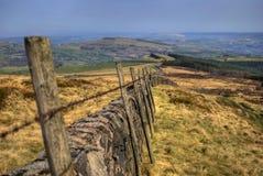 Peak district. Panoramic scene at Peak District, UK Royalty Free Stock Image