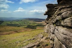 Peak District. View of the Peak District Royalty Free Stock Photos