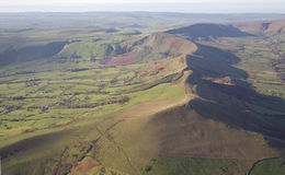 Peak District aerial Stock Photography