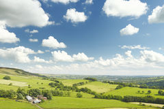 Peak District. Beautiful landscape of the Peak District, UK Stock Photography