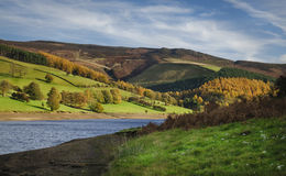 Peak District England. Ladybower reservoir in the Peak district in North West England Stock Photos