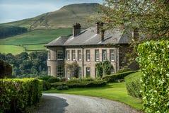 Peak District Mansion Stock Images