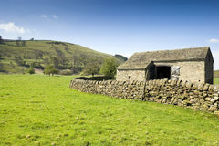Peak District National Park Barn Royalty Free Stock Images