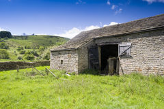 Peak District National Park Barn Stock Photography