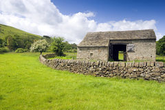 Peak District National Park Barn Stock Image
