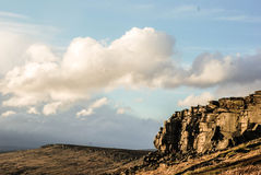 Peak District. One sunshine afternoon in the Peak District stock photography