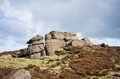 Peak district. Rock in peak district national park Royalty Free Stock Photo