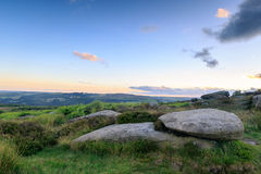 Peak District Stones Royalty Free Stock Photography