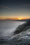 Peak District Sunrise Stock Photography