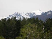 Peak. Eastern Sayan mountains. The Republic of Buryatia. Stock Photo