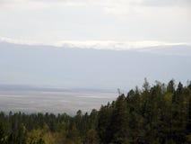 Peak. Eastern Sayan mountains. The Republic of Buryatia. Royalty Free Stock Photo