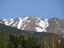 Peak. Eastern Sayan mountains. The Republic of Buryatia. Stock Images