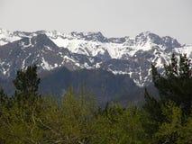 Peak. Eastern Sayan mountains. The Republic of Buryatia. Royalty Free Stock Photography