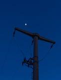 Peak electricity Stock Photo