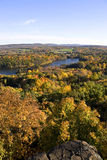 Peak Foliage in New England Royalty Free Stock Photo