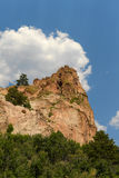 Peak Formation at Garden of the Gods Stock Photos
