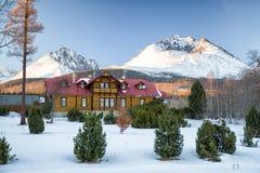 Peak Gerlach in High Tatras, Slovakia Royalty Free Stock Photos