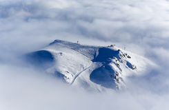 Peak of the Gudauri Hill Stock Photography