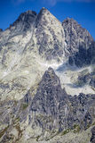 Peak in High Tatras, Slovakia Stock Image