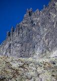 Peak in High Tatras, Slovakia Royalty Free Stock Images