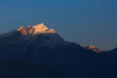 Peak in Himalaya Mountain Stock Photography