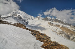 Peak in Himalayas Royalty Free Stock Photography