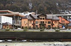 Peak Hotel Melody Mountain in Esto-Sadok Royalty Free Stock Photos