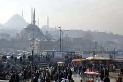 Peak hour in Istambul. Stock Photography
