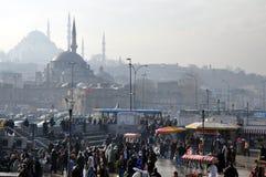 Peak hour in Istambul. Stock Photography