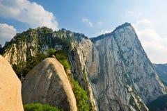 Peak_huashan_shanxi_landscape occidental Photographie stock libre de droits