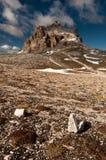 Peak in Italian Dolomites Royalty Free Stock Photo