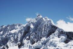 Peak Jancarurish  in the Cordilleras Royalty Free Stock Photos
