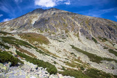 Peak Koncista in High Tatras, Slovakia Stock Photo