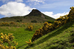 Peak Landscape. Image of Roseberry Topping in North Yorkshire England Royalty Free Stock Photography