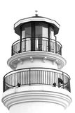 Peak of light house roof Royalty Free Stock Photo
