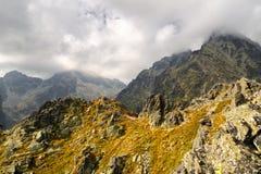 Peak Lomnicky stit in High Tatras, Slovakia Royalty Free Stock Photos