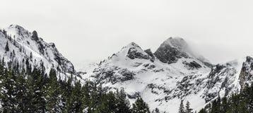 Peak Maliovica in national park Rila Stock Photography