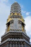 Peak of Marble Stupa at Wat Pho Monastery at Bangkok. Stock Images
