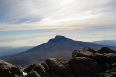 Peak Mawenzi,Tanzania Royalty Free Stock Photo