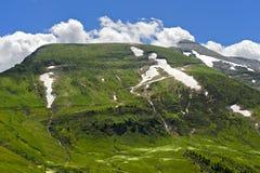 Peak Mont Joly. Near Megeve, Haute-Savoie, France stock images