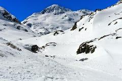Peak Mont Mort, Valais, Switzerland Royalty Free Stock Images