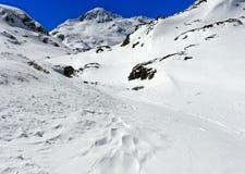 Peak Mont Mort, Valais, Switzerland Stock Photography
